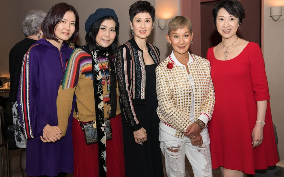 Wendy Tong, Denise Lo, Michelle Ong, Marie-Christine Lee-Louey, Michelle Ma