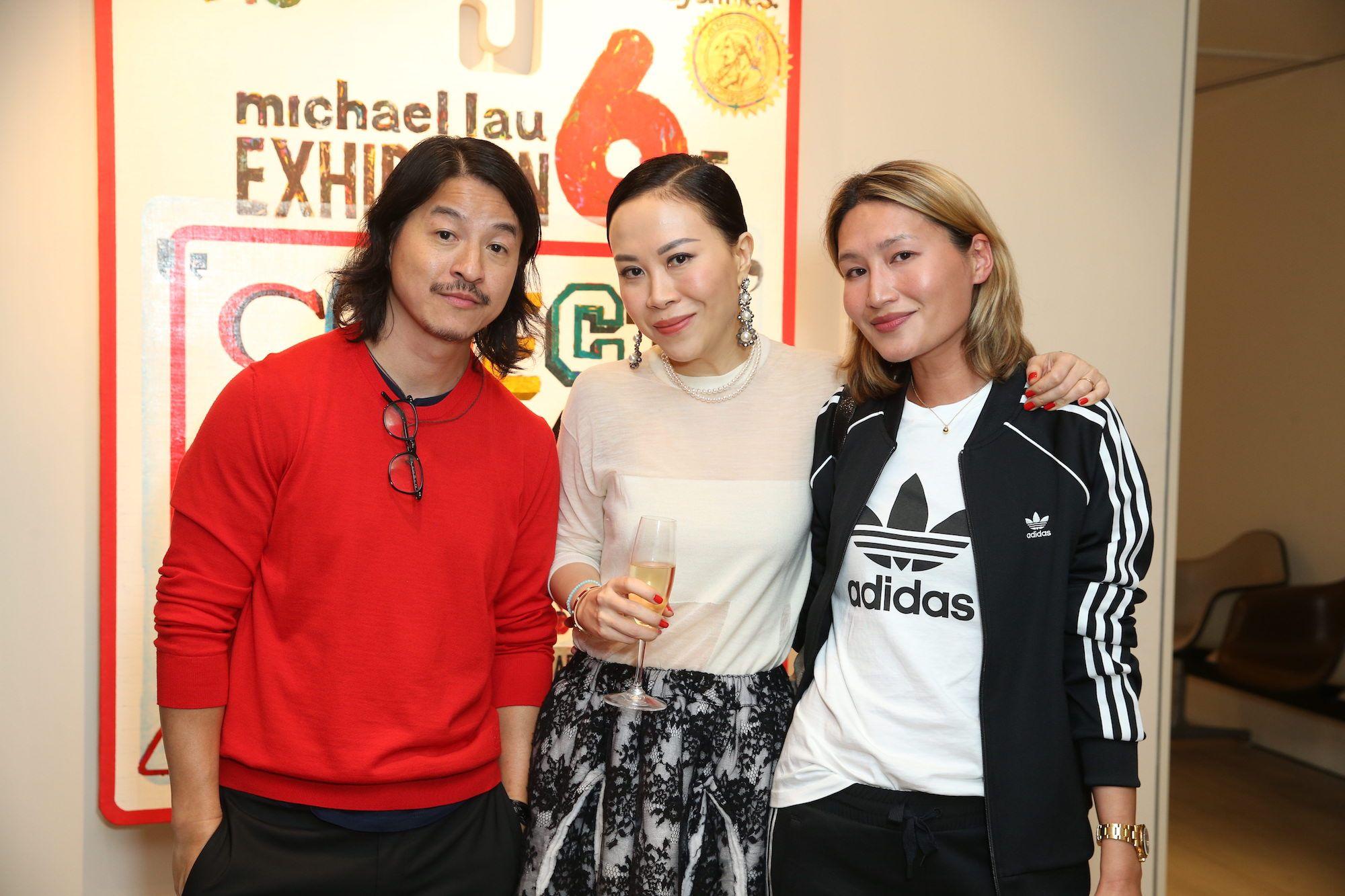 Michael Lau, Florance Yip, Helen Ma