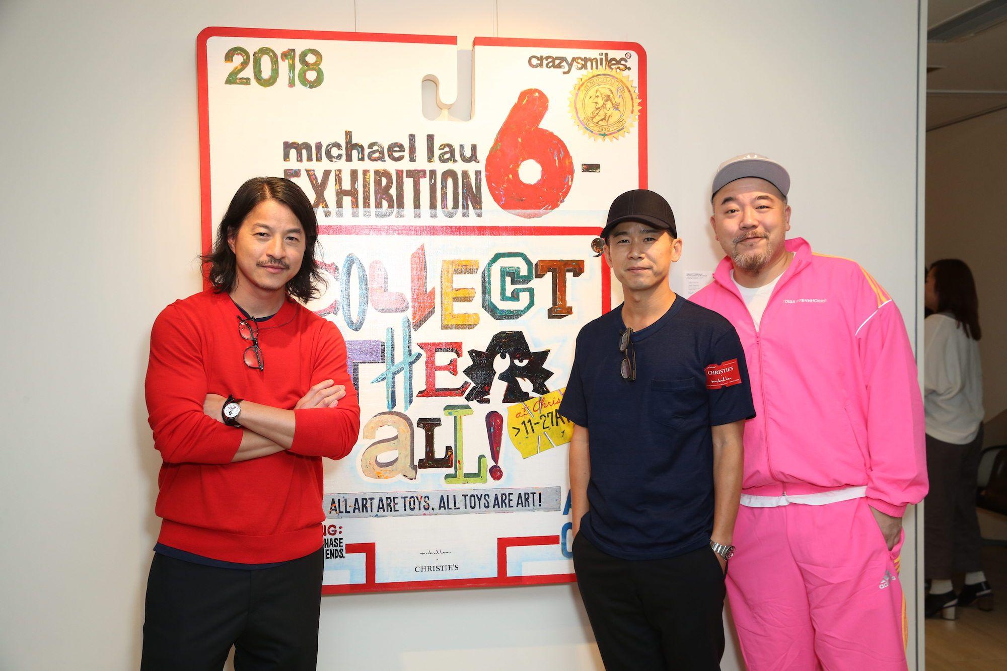 Michael Lau, Jan Lam, Wyman Wong