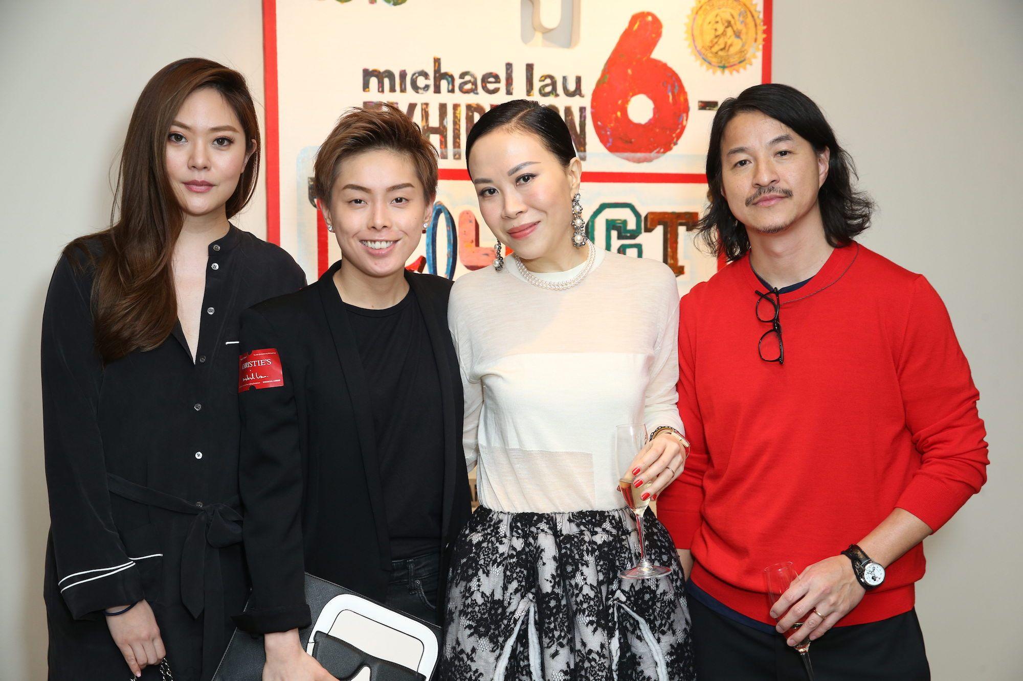 René Chu, Tiffany Chan, Florance Yip, Michael Lau