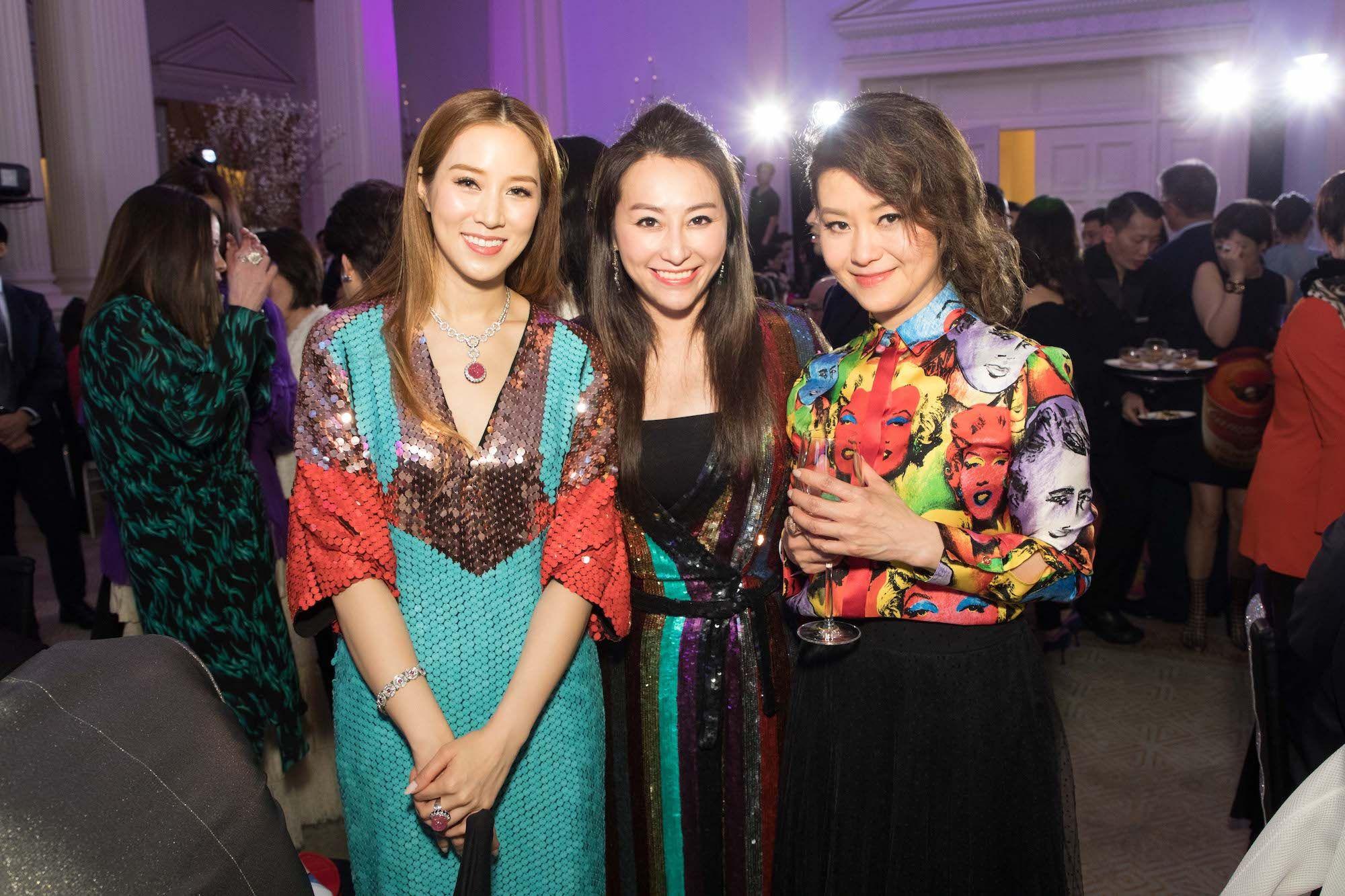 Cathy Lee, Winnie Chiu, Cecilia Cheung