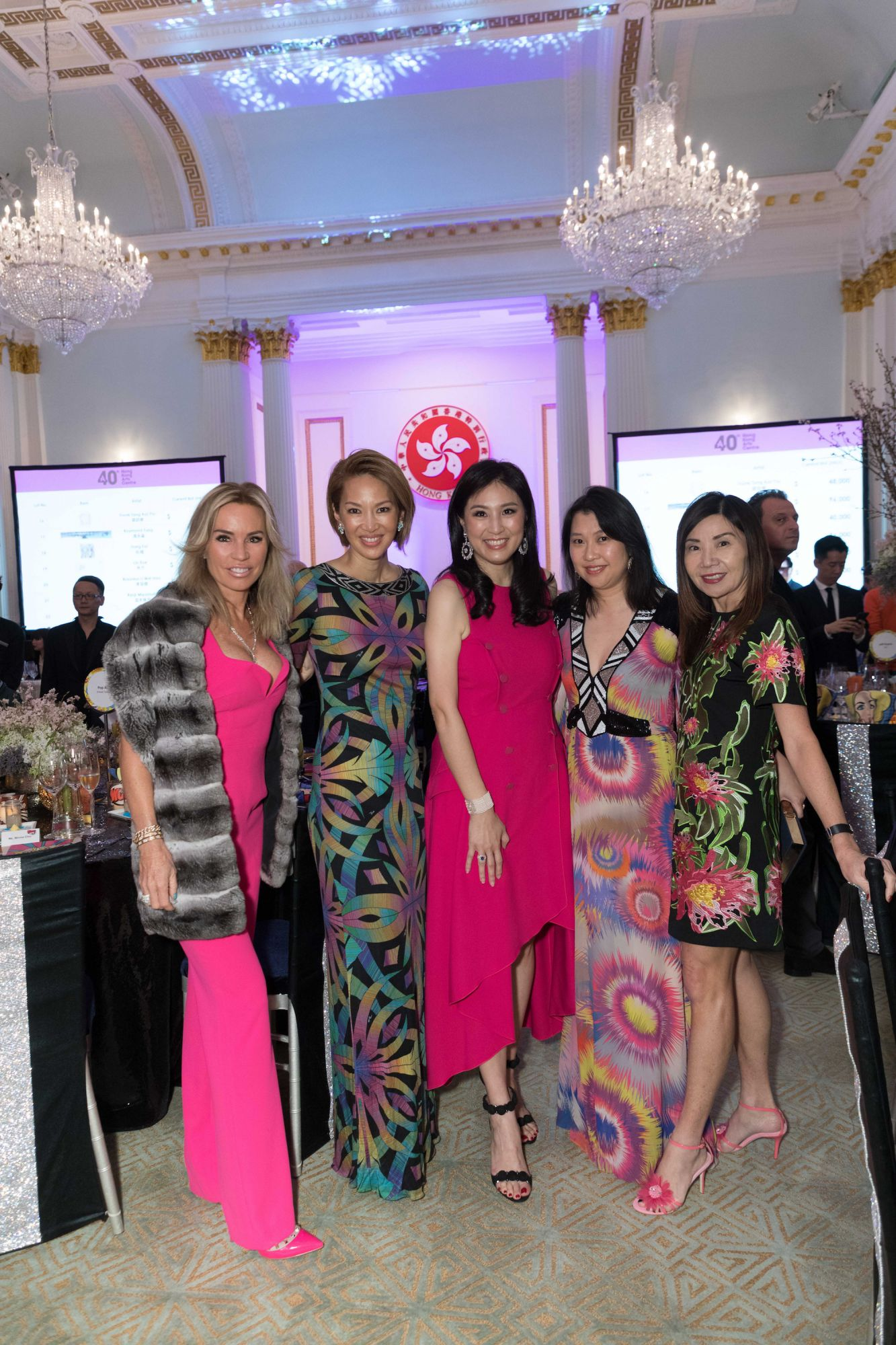 Annabelle Bond, Yolanda Choy-Tang, Leigh Tung-Chou, Peggy Yeoh, Esther Ma