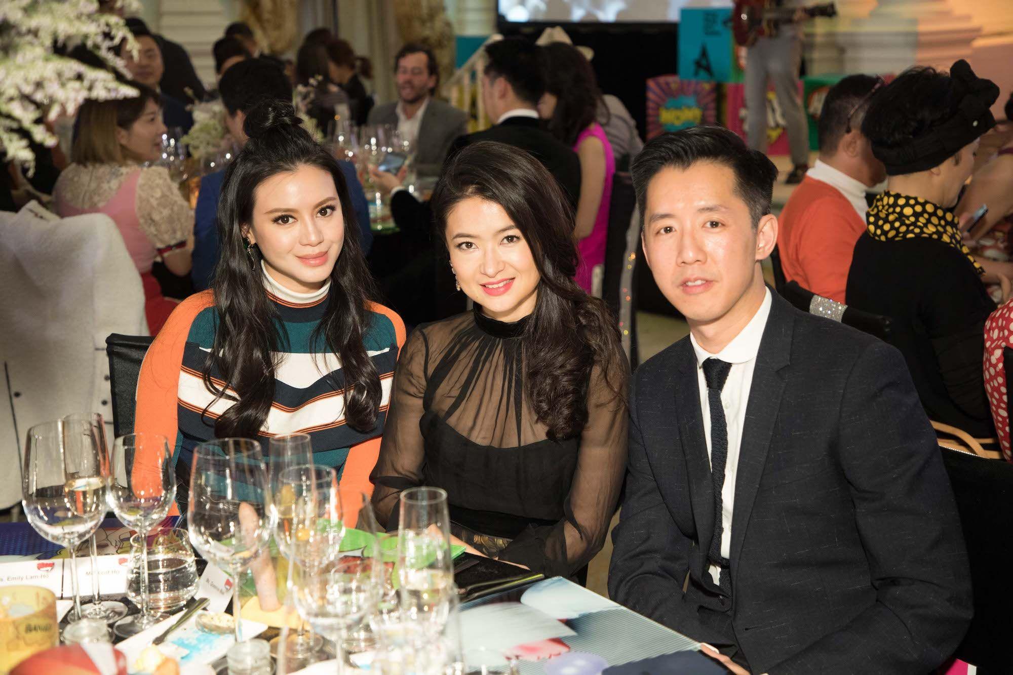 Emily Lam-Ho, Queenie Mak, André Fu