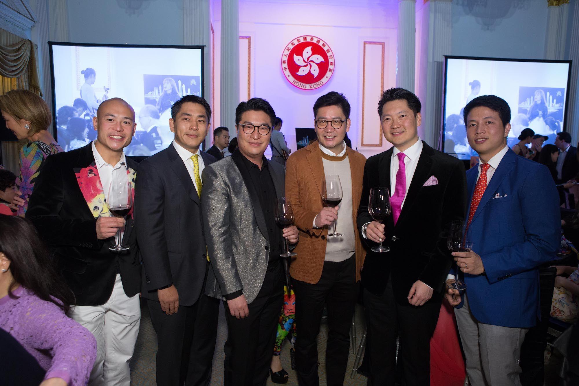 Justin Hui, Kent Ho, Martin Lee, Brian Li, Julian Liu, Tommy Hui