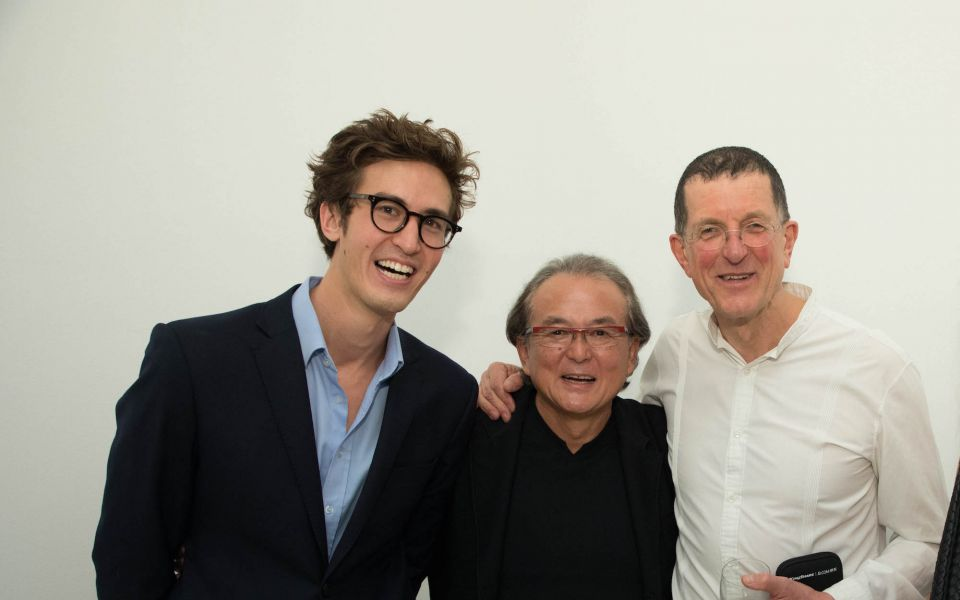 Nick Buckley Wood, Richard Akagawa, Antony Gormley