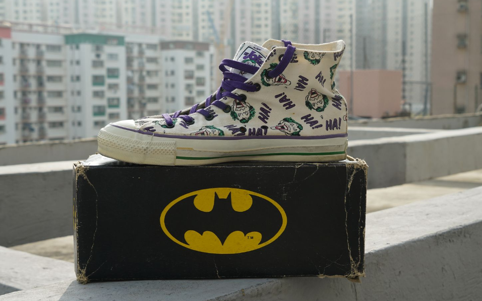 Converse Batman Joker Collection Canvas Hi-Cut