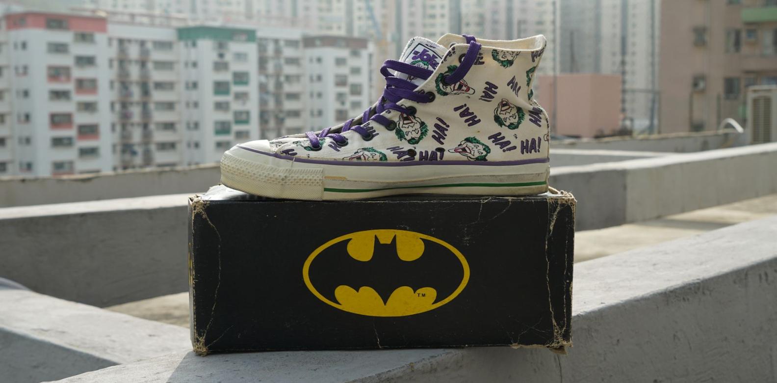 Converse Batman Joker Collection Canvas Hi-Cut