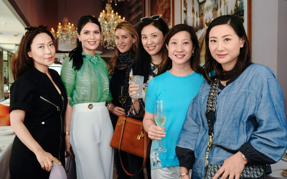 Sharie Ross-Tse, Audry Puckett, Lucy Bond-Marriott, Leigh Tung-Chou, Miranda Cheung, Lillian Lee-Fong