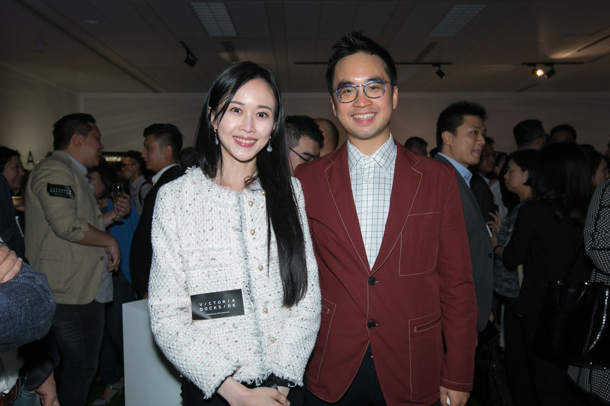Jacqueline Chow, Adrian Cheng