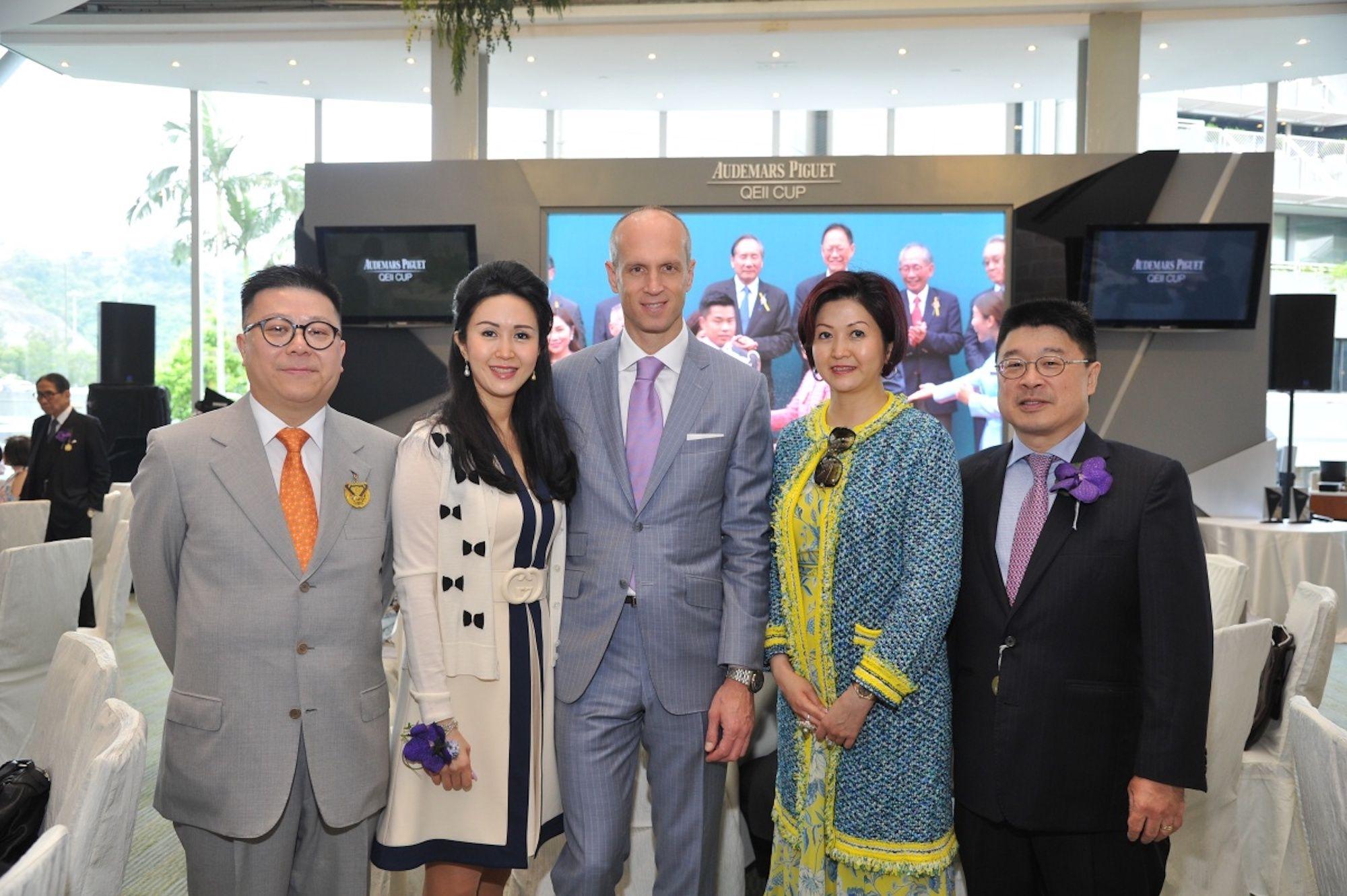 Matthew Lam, Lianne Lam, David von Gunten, Leta Lau, Paul Lau