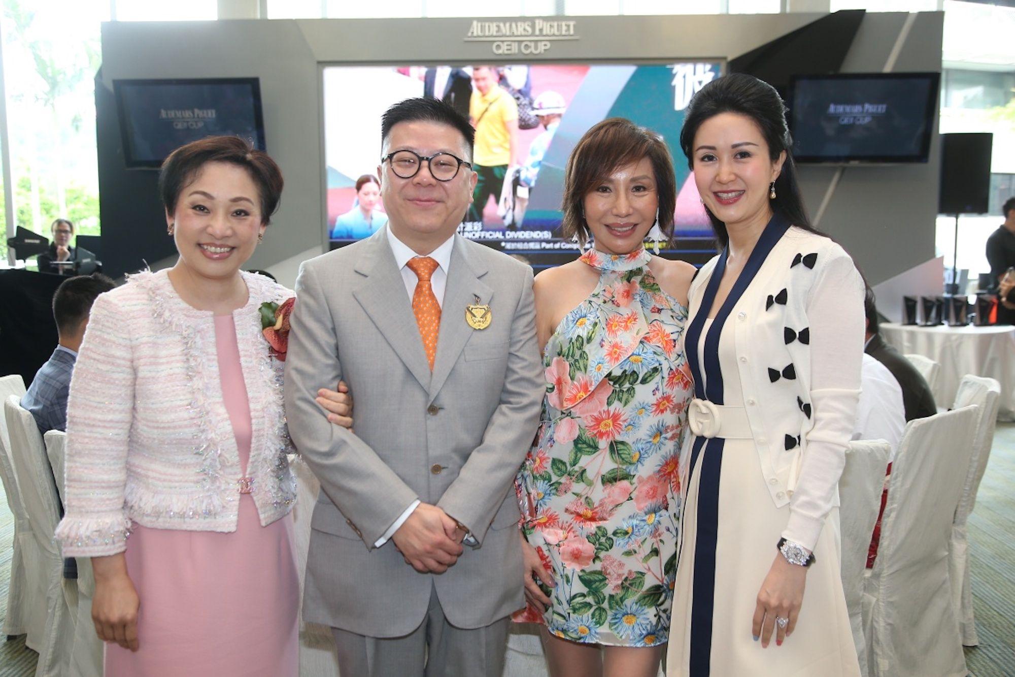Nina Lam, Matthew Lam, Olivia Lee-Davies, Lianne Lam