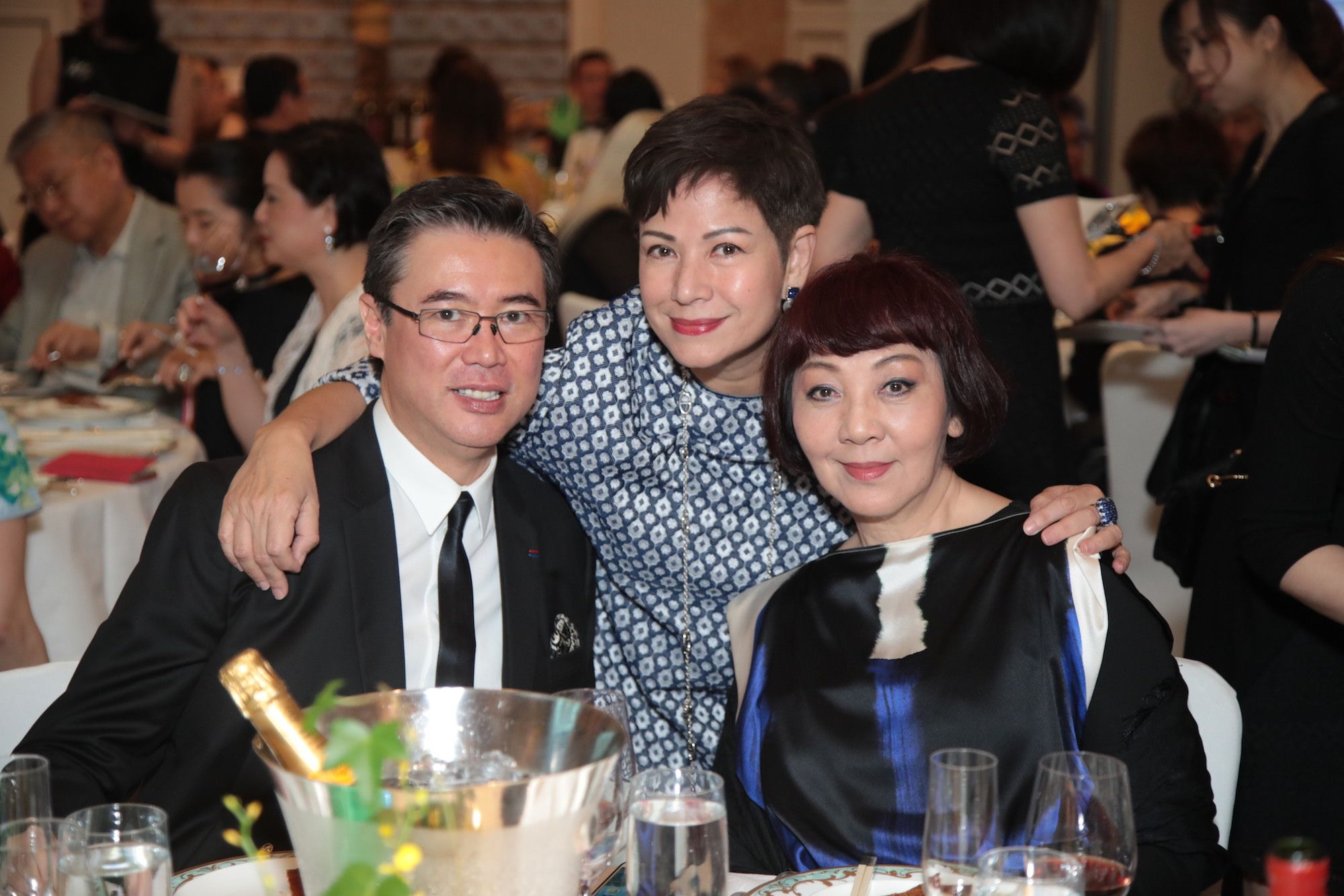 Andrew Yuen, Susanna Cheung, Judy Mann