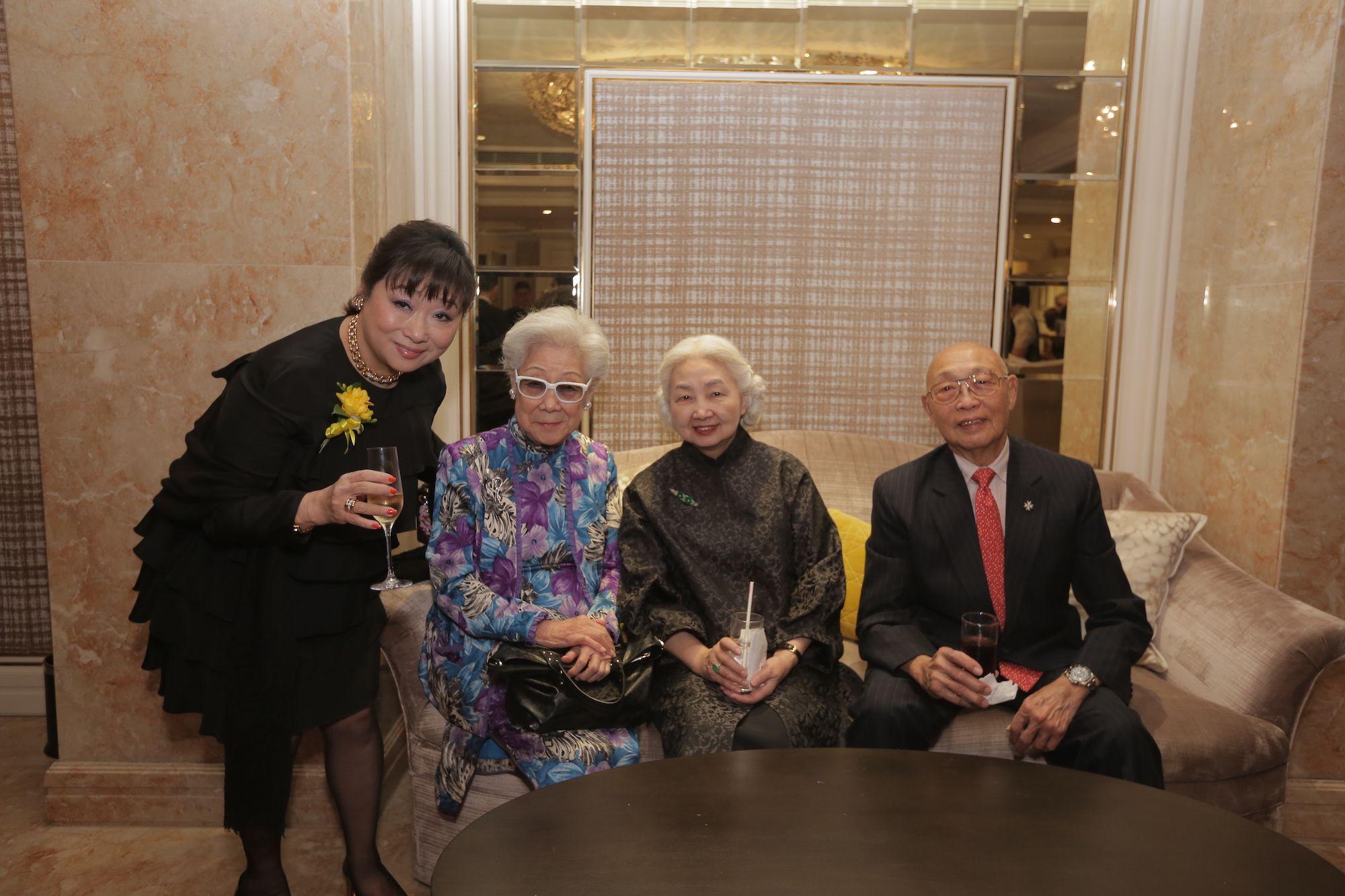 Noreen Siu-Richards, Eleanor Mok, Elsie Leung, Peter Wong