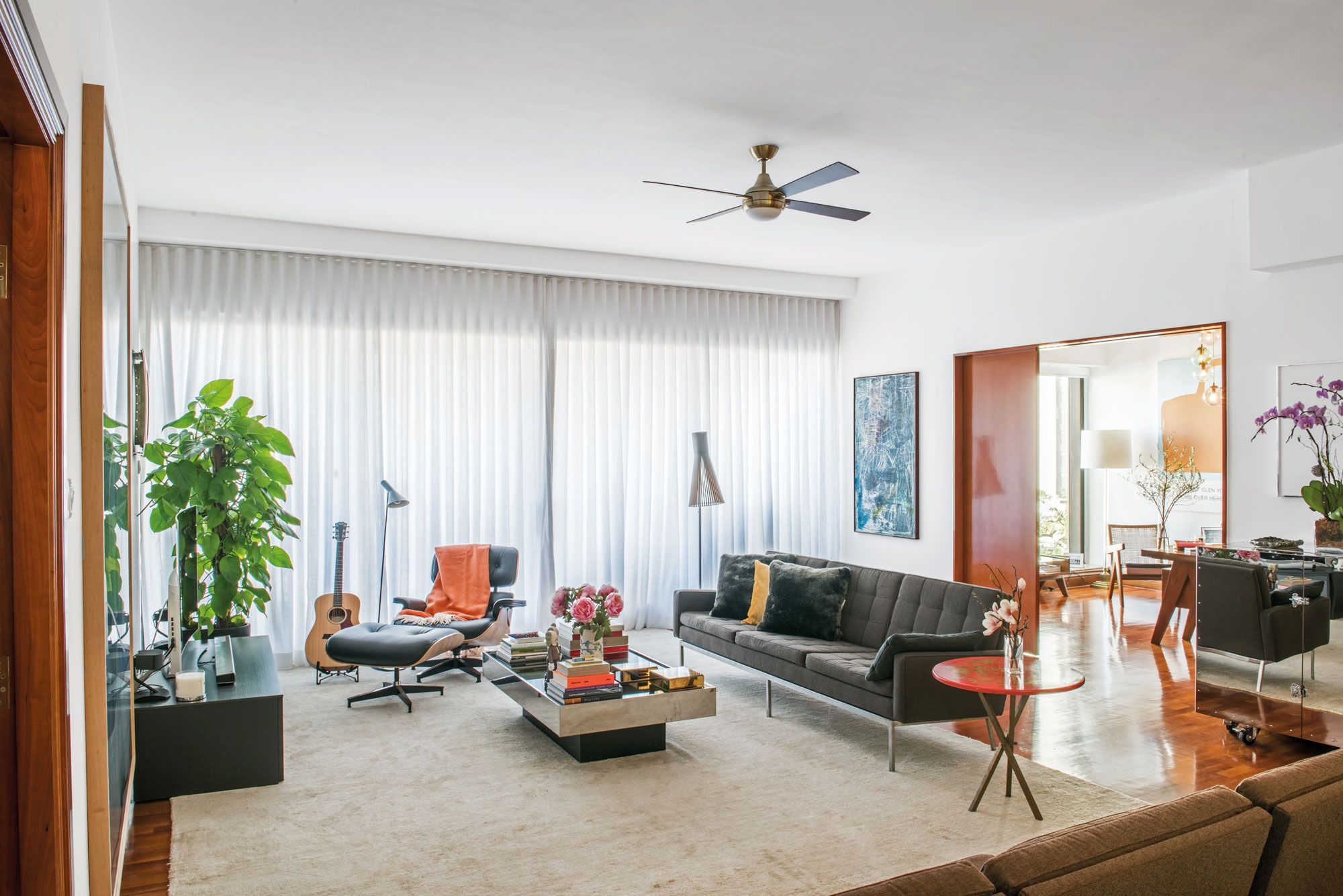 Hong Kong Homes: A Contemporary Art-Filled Apartment In