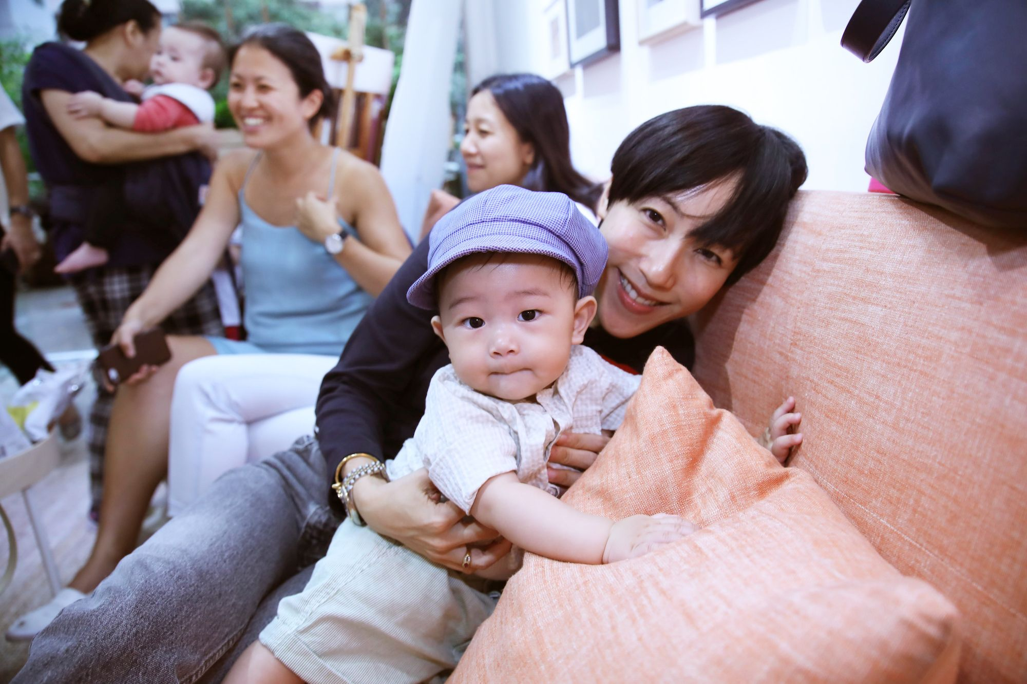 Denise Ho and her son Donovan