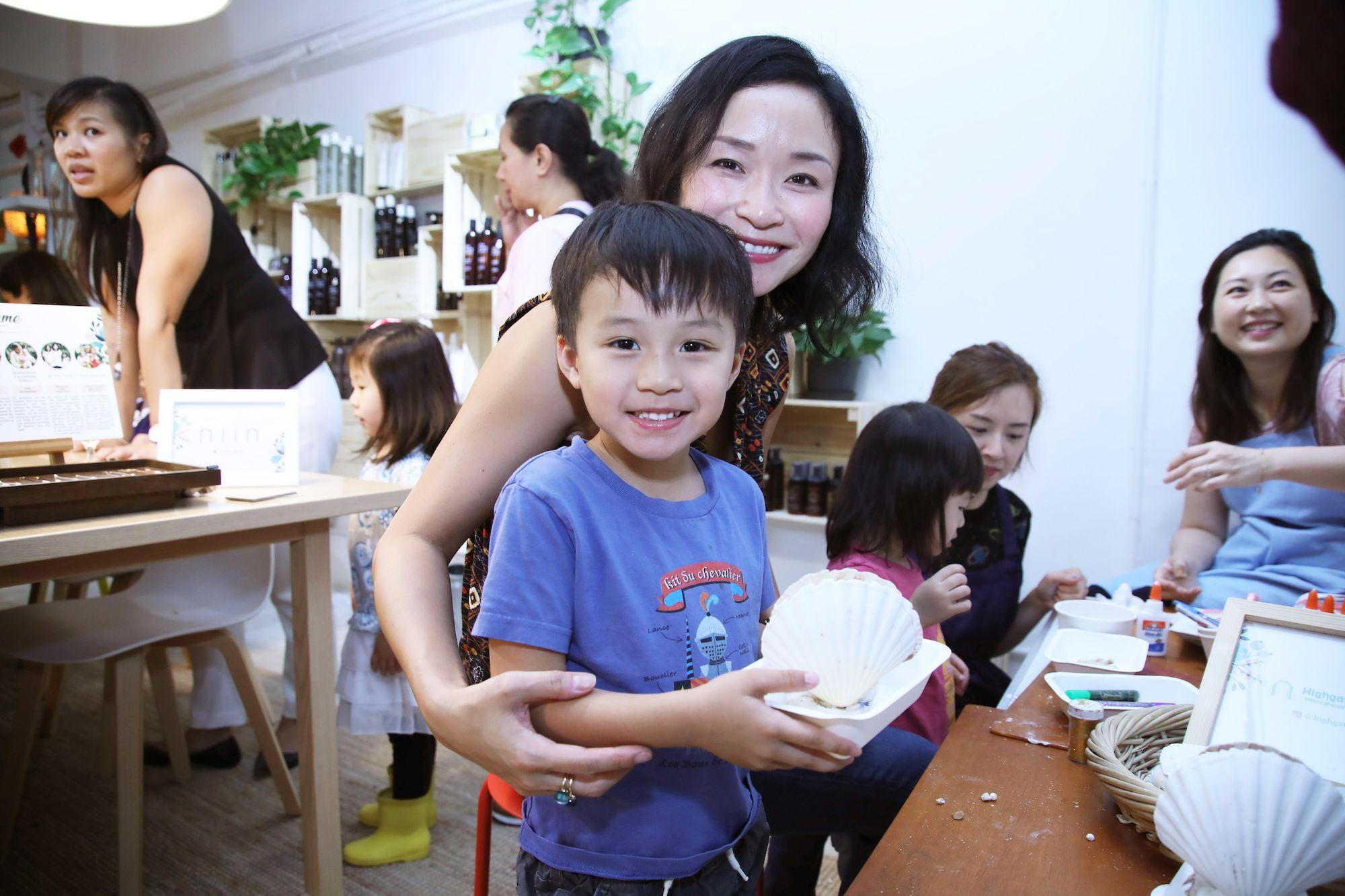 Joleen Soo and her son Gabriel