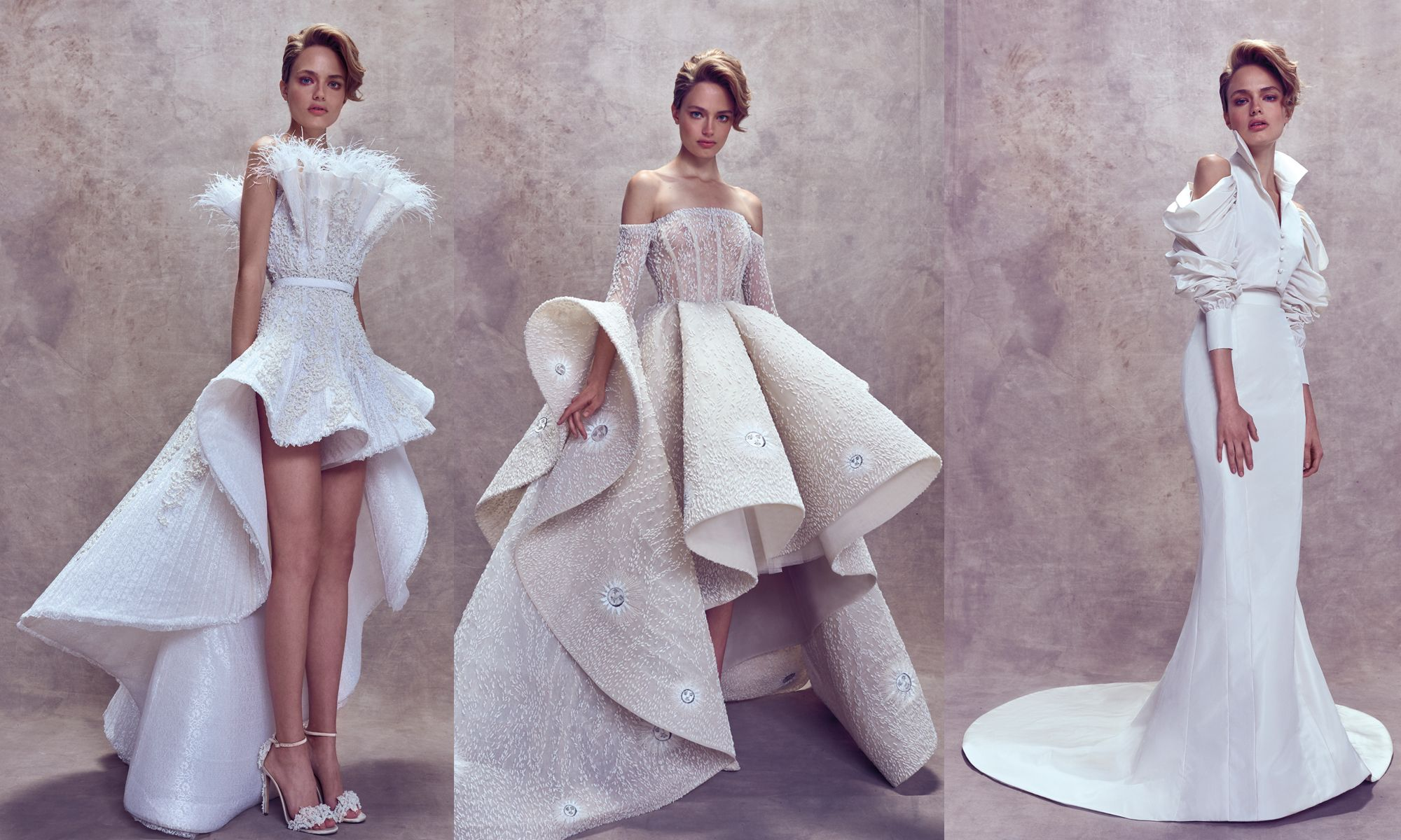 The Hottest, Larger-Than-Life Wedding Dresses For 2018 Brides