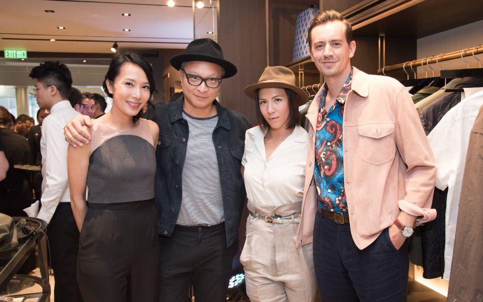Jaime Ku, Benedict Ku, Victoria Tang-Owen, Christopher Owen