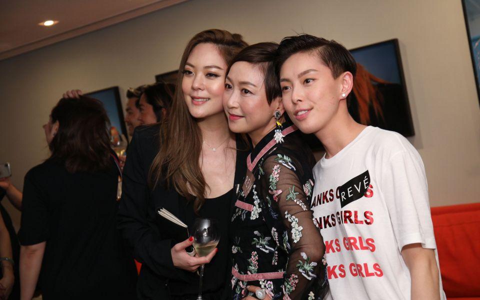 René Chu, Shirley Chan, Tiffany Chan