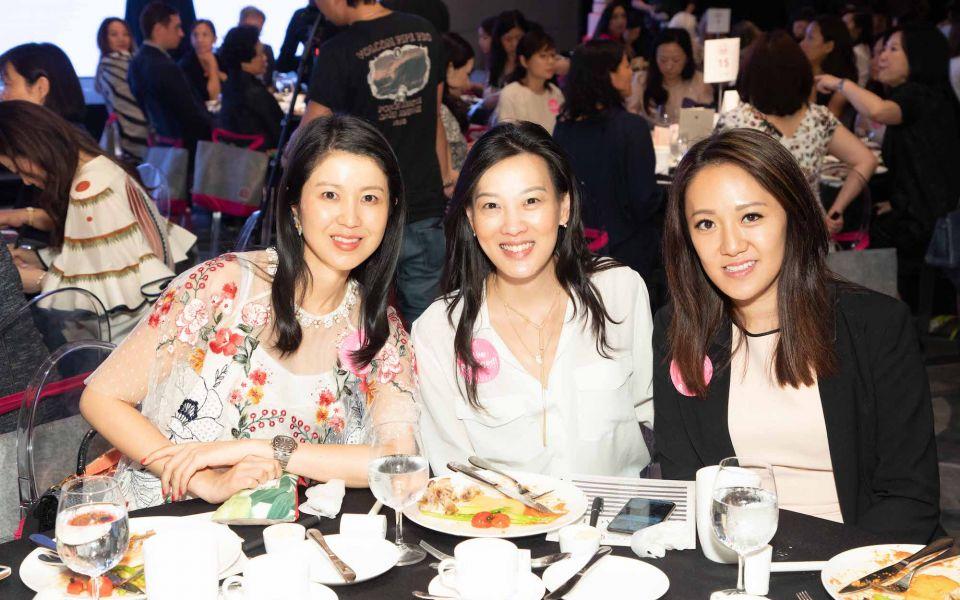 Gillian Wang-Wong, Joyce Tam, Jenny Chau