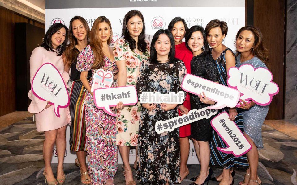 Jennifer Wang-Fang, Jeanine Hsu, Anna Treier, Leigh Tung-Chou, Jo Soo-Tang, Ann Cha, Cherry Chu-Tang, Yvonne Ma, Sharie Ross-Tse