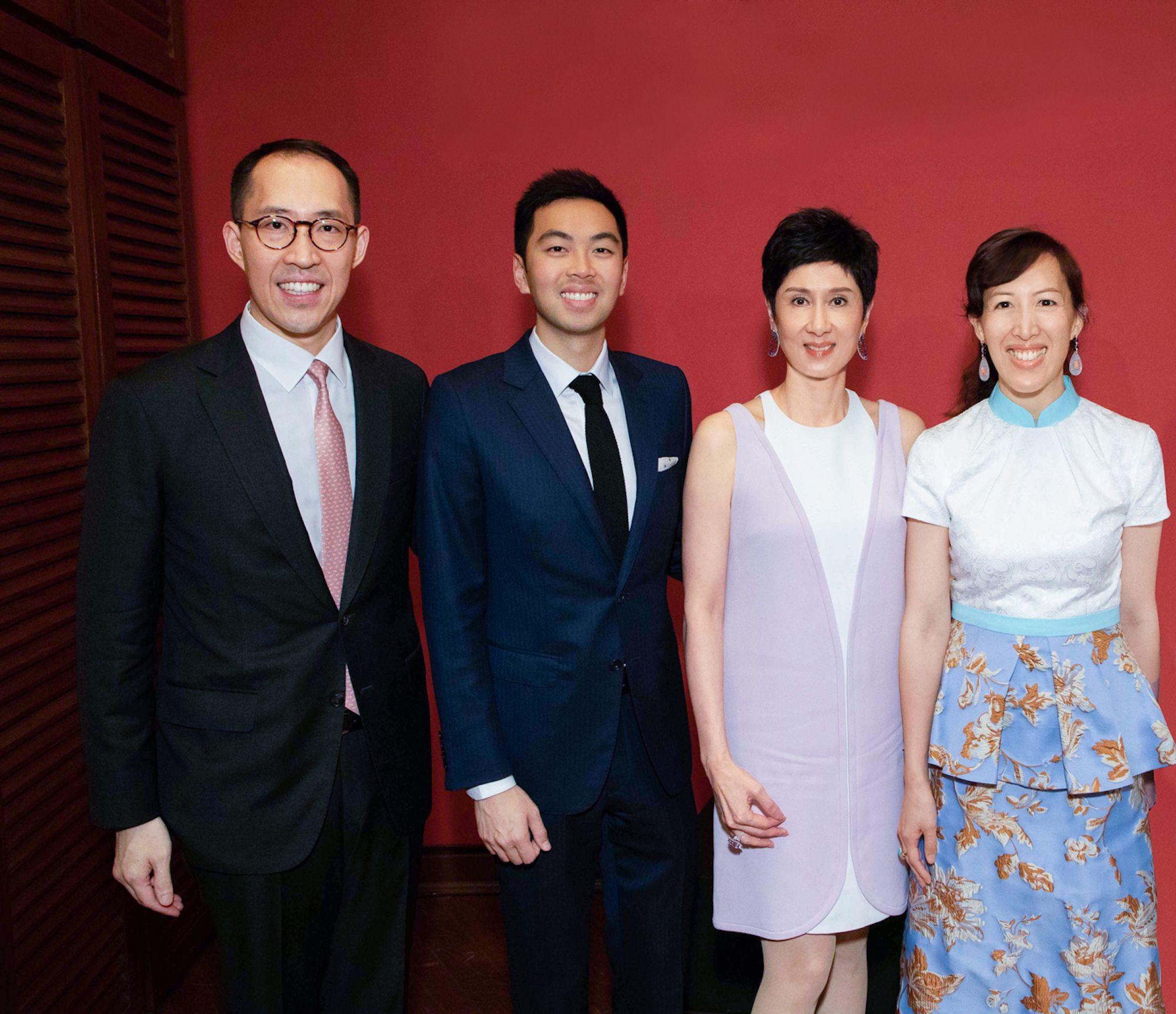 Daryl Ng, Adrian Cheung, Michelle Ong, Nikki Ng