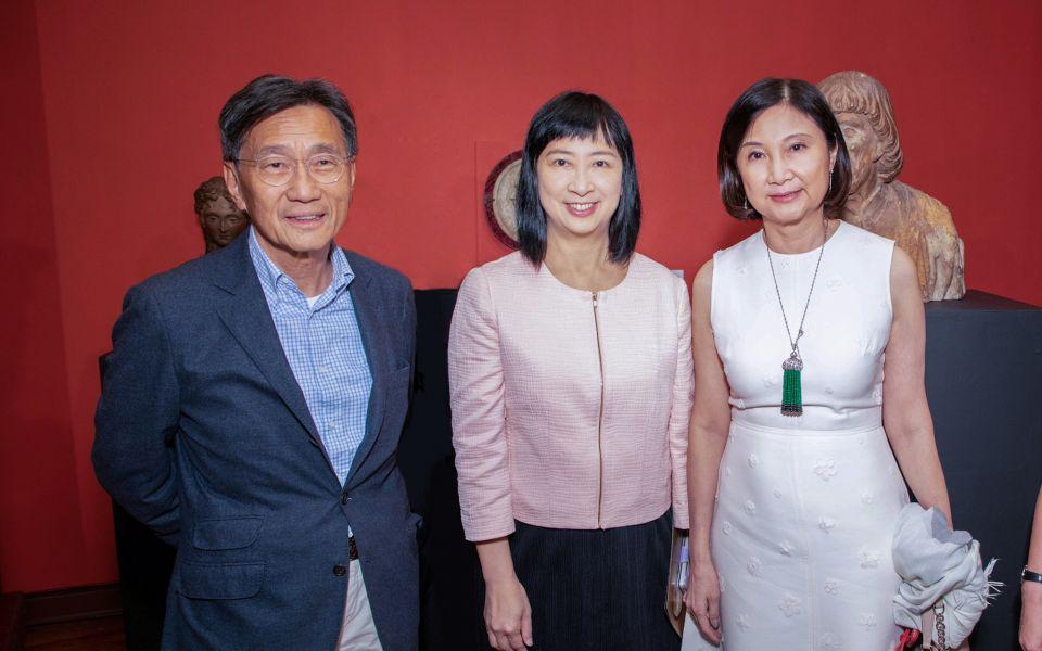Christopher Cheng, Michelle Li, Catherine Kwai