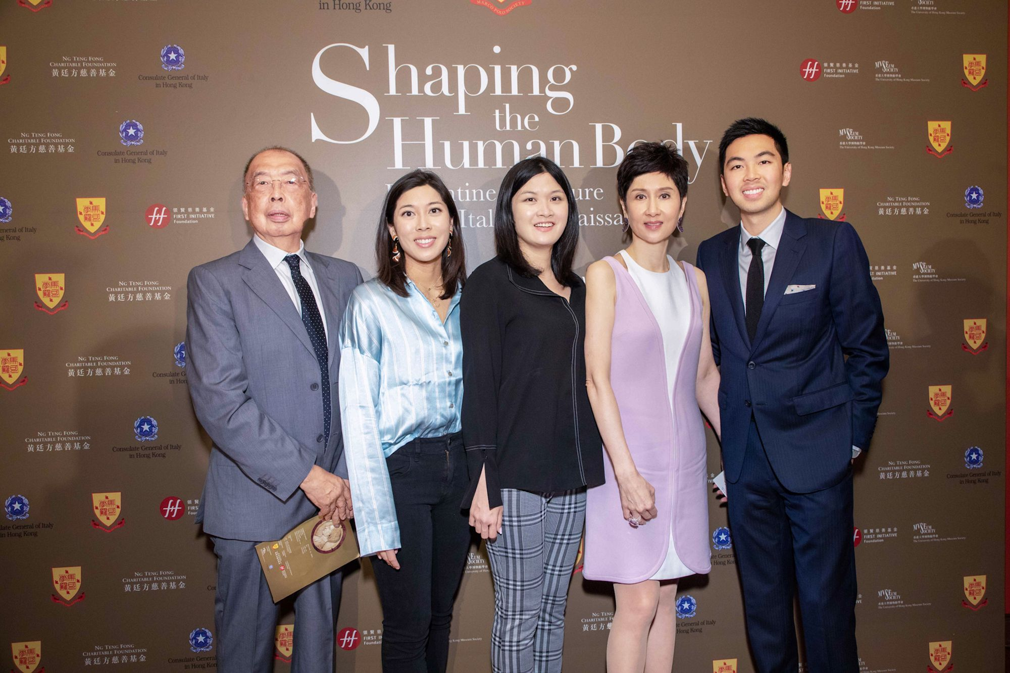 David Cheung, Amanda Cheung, Jennifer Cheung, Michelle Ong, Adrian Cheung