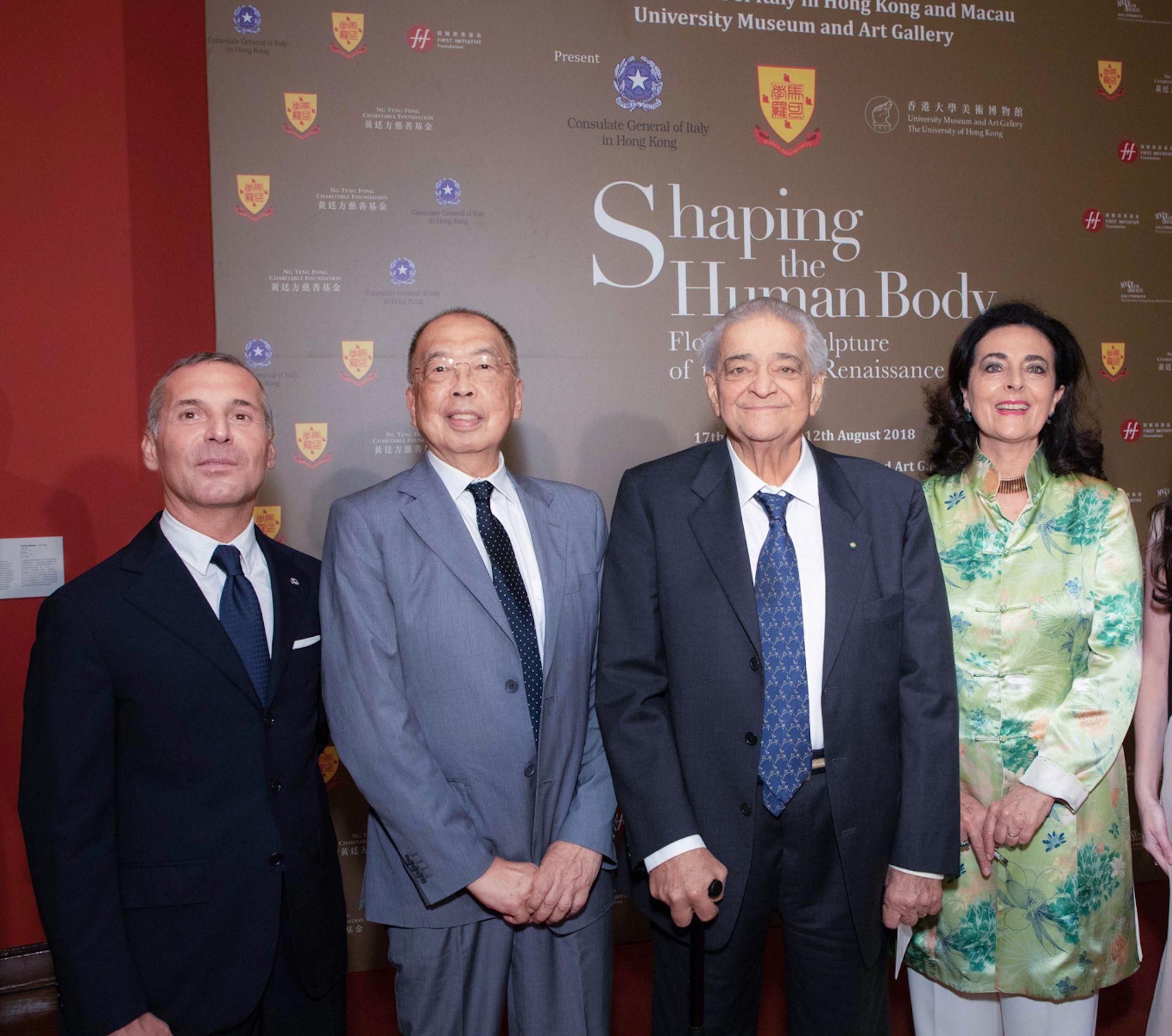 William Figliola, David Cheung, Luigi Bellini, Francesca Bellini