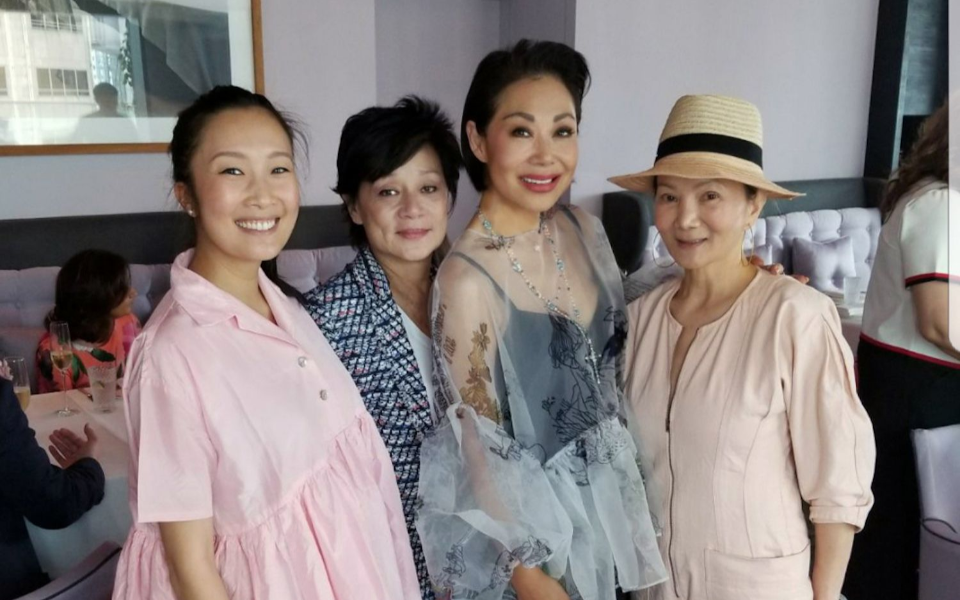Chelsea Chau-Kuok, Linda Ho-McAfee, Bonnae Gokson, Reina Chau
