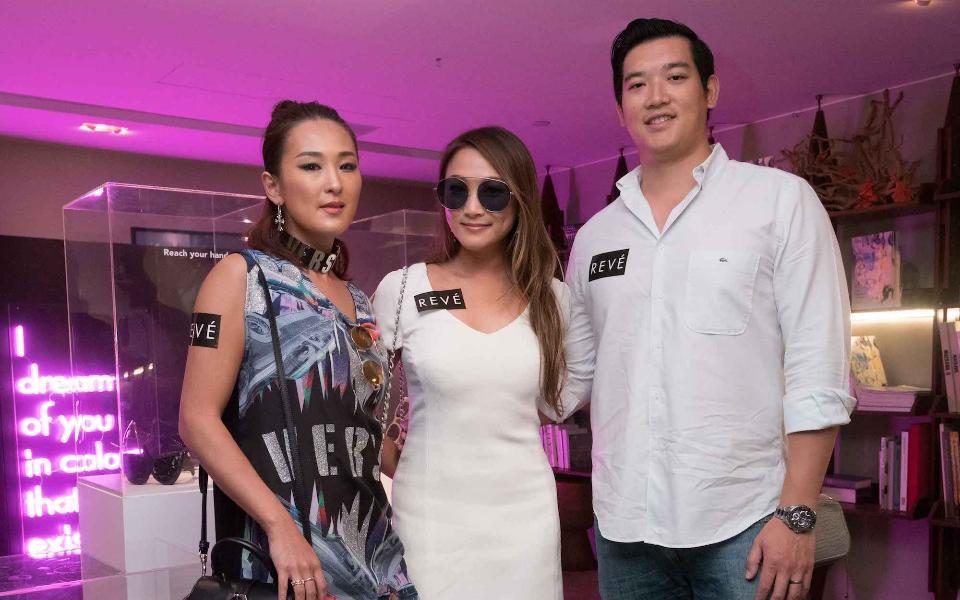 Antonia Li, Caroline Li, Tim Tsoi