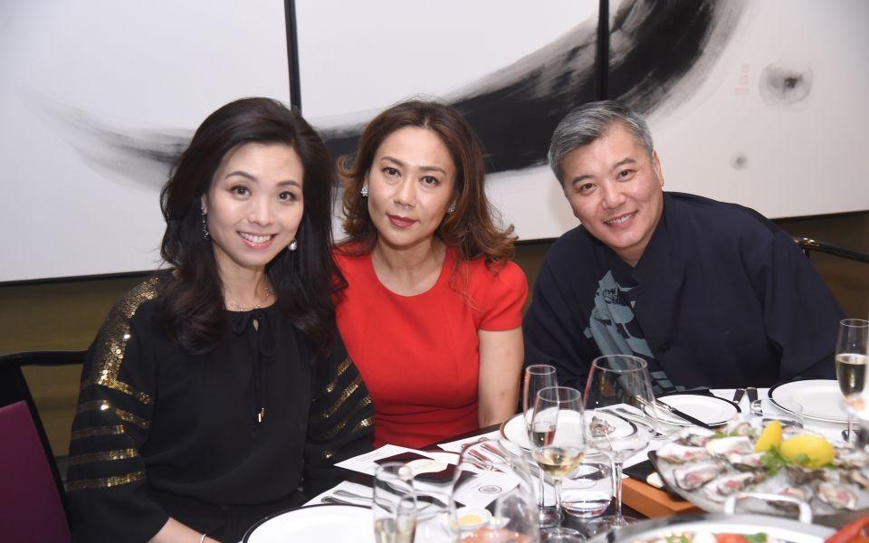 Anne Wang-Liu, Sharie Ross-Tse, Peter Cheung