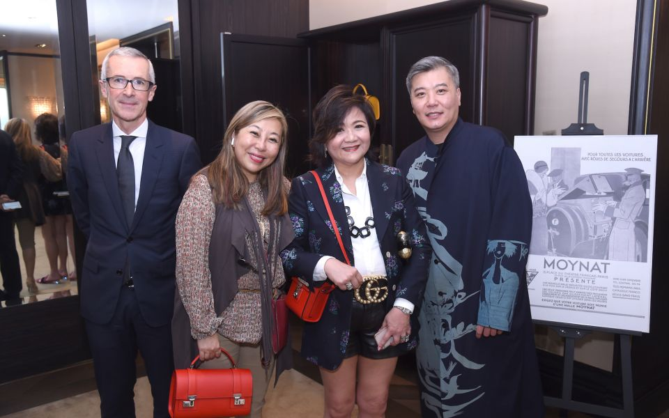 Guillaume Davin, Lumen Kinoshita, Sue-Lynn Woo-Hwa, Peter Cheung