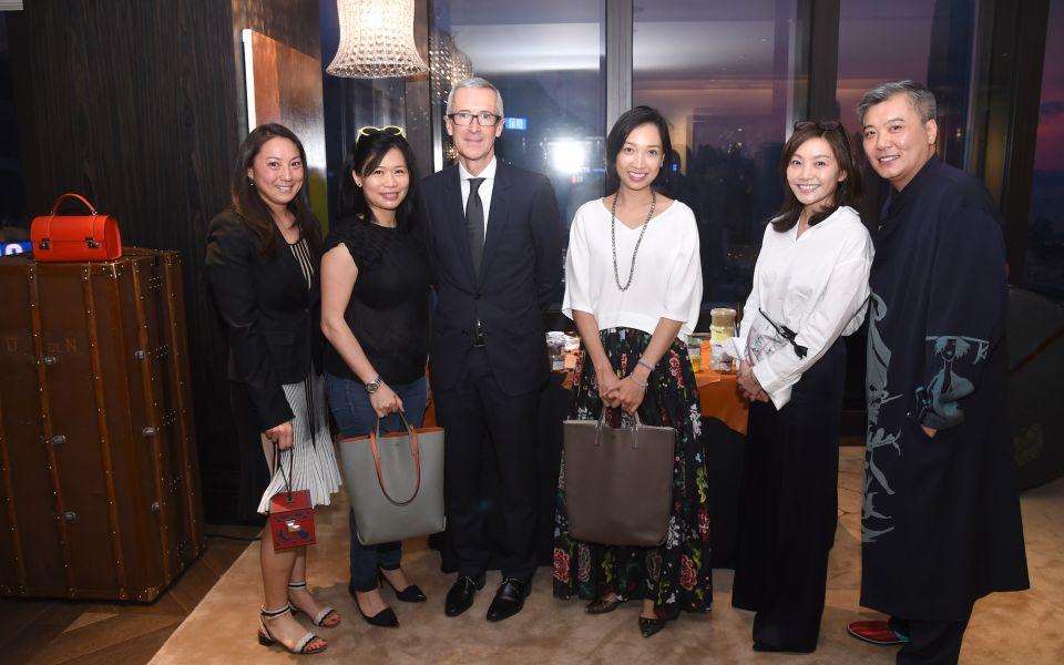 Pamela Tung, Angela Cheng-Matsuzawa, Guillaume Davin, Ann Cha, Laetitia Yu, Peter Cheung