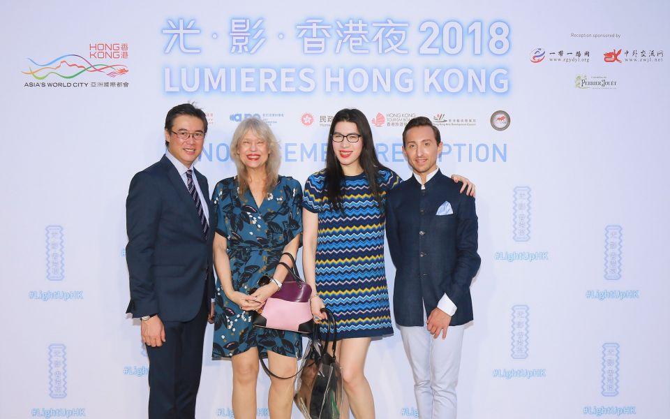 Andrew Yuen, Paulette Ho, Chloe Ho, Julien-Loïc Garin
