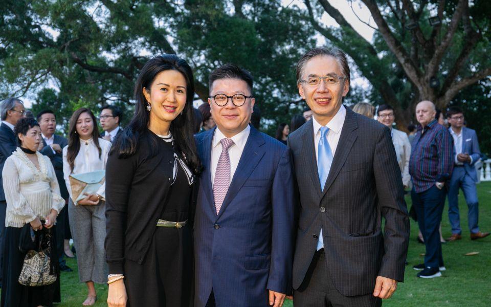 Lianne Lam, Matthew Lam, David Fong