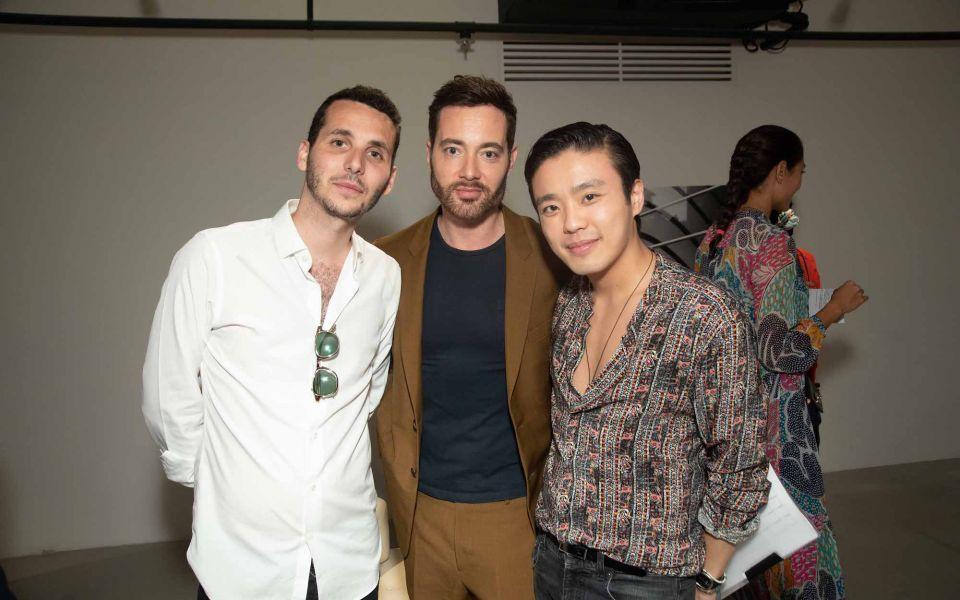Greg McNamara, Ulysses de Santi, Jonathan Cheung