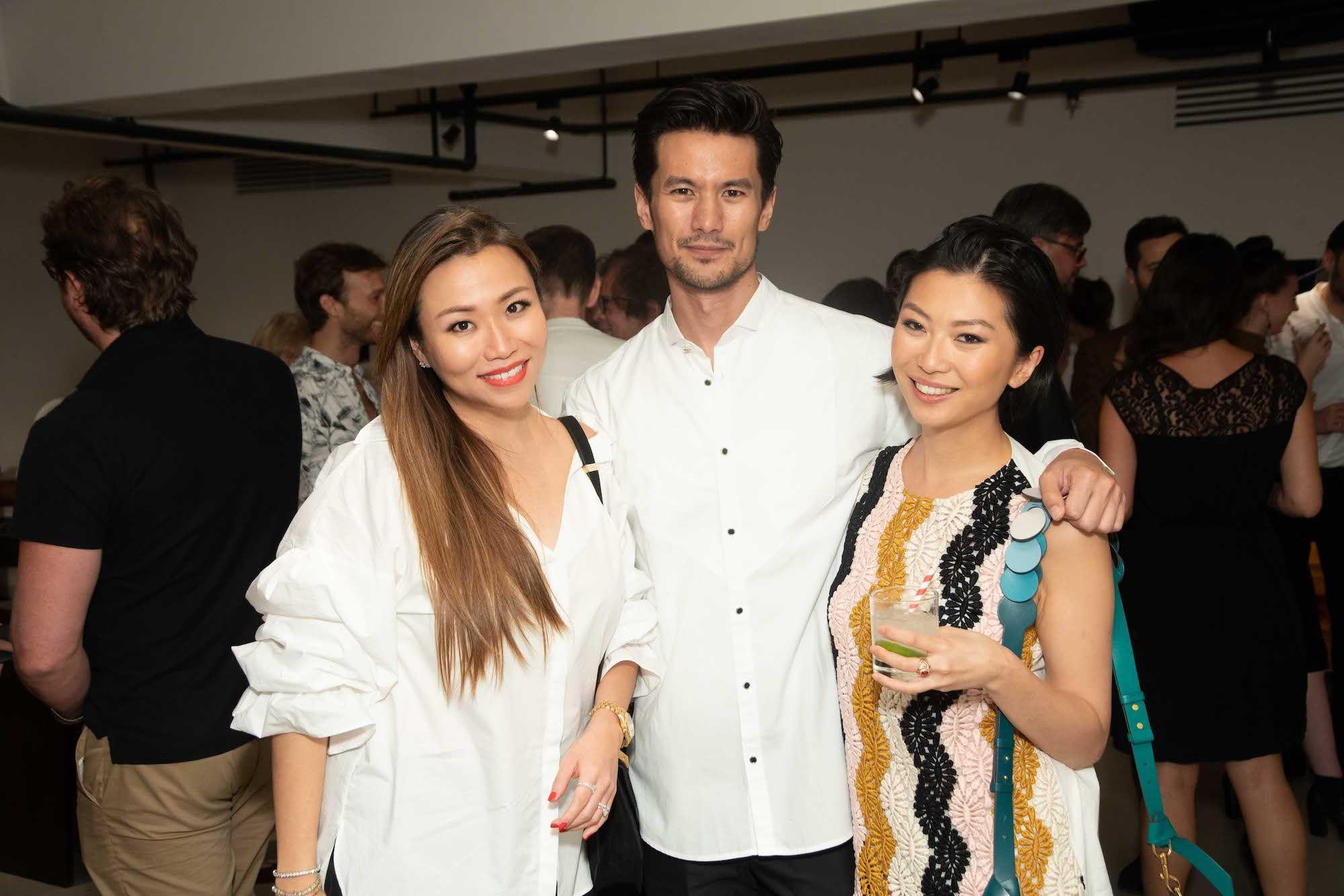 Nancy Fung, Mac Puckett, Laura Cheung