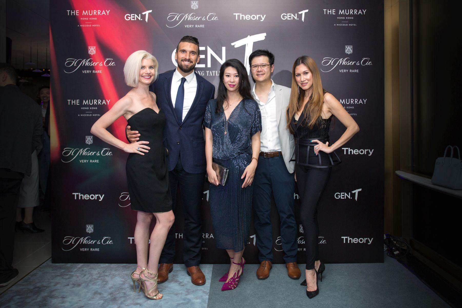 Katherine Bisagni, Alessandri Bisagni, Christy Liang, Benjamin Liang, Anna Treier