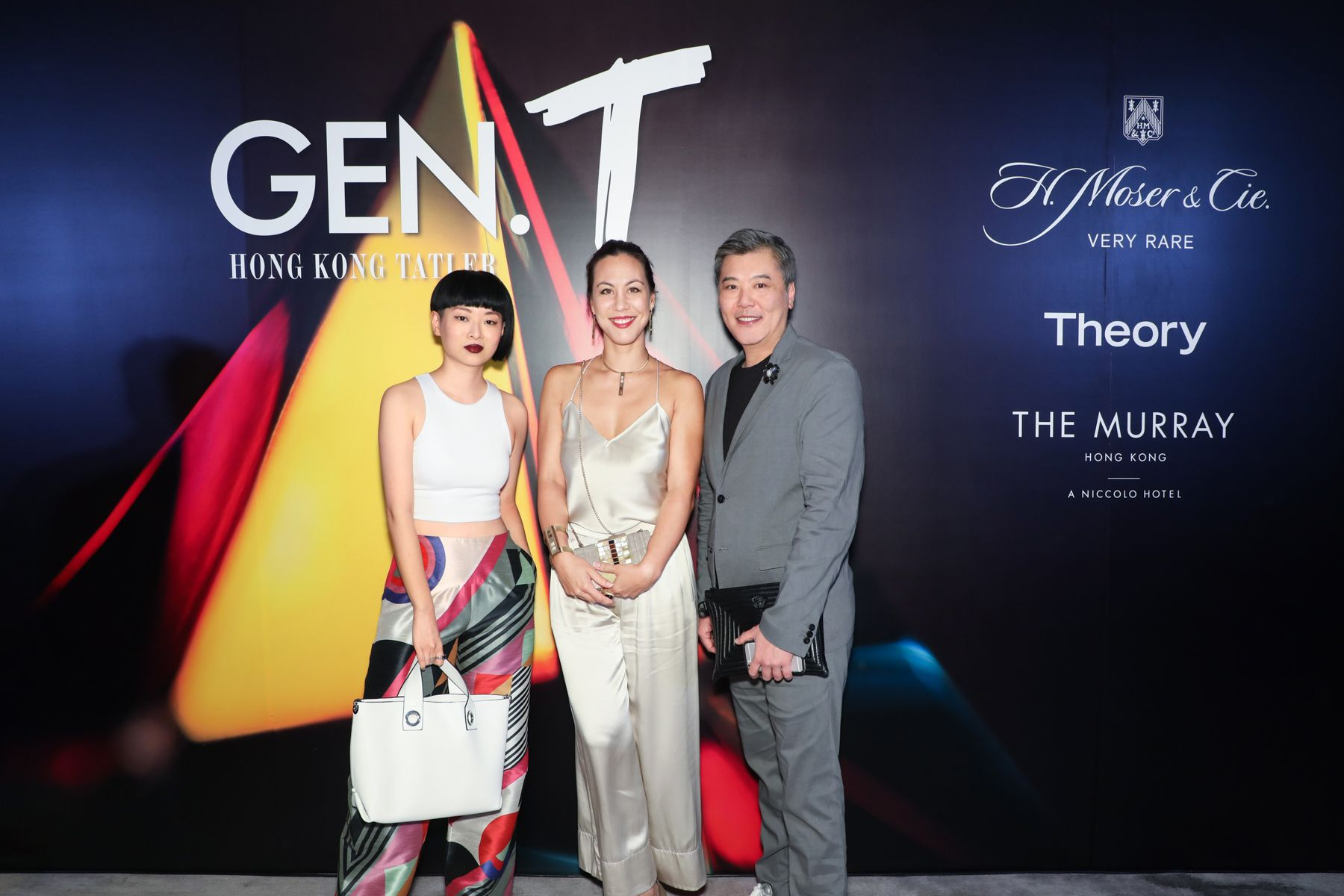 Thierry Chow, Jeanine Hsu, Peter Cheung