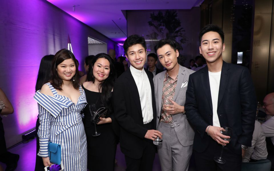 Carmen Choi, Jess Tang, Edwin Pun, Charles Lam, Dennis Tam