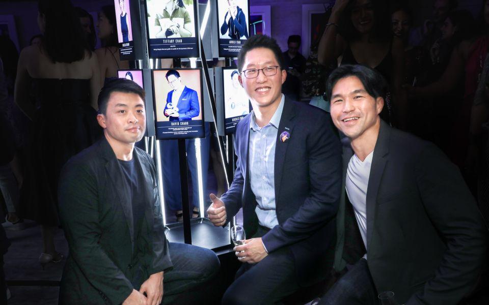 Dominic Wang, David Chang, Jamie Lee