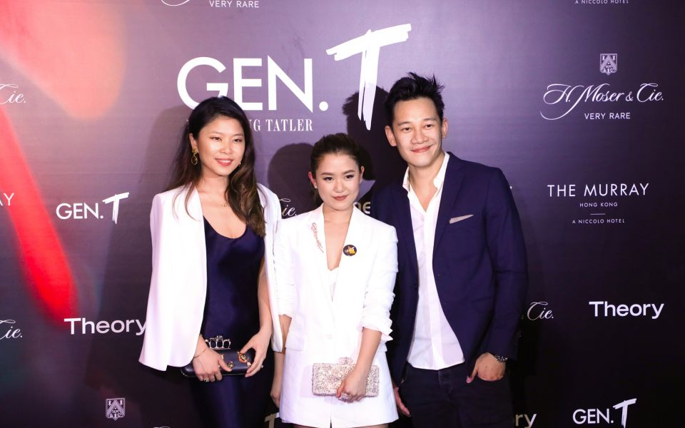 Elaine Lu, Pearl Shek, Alby Chung