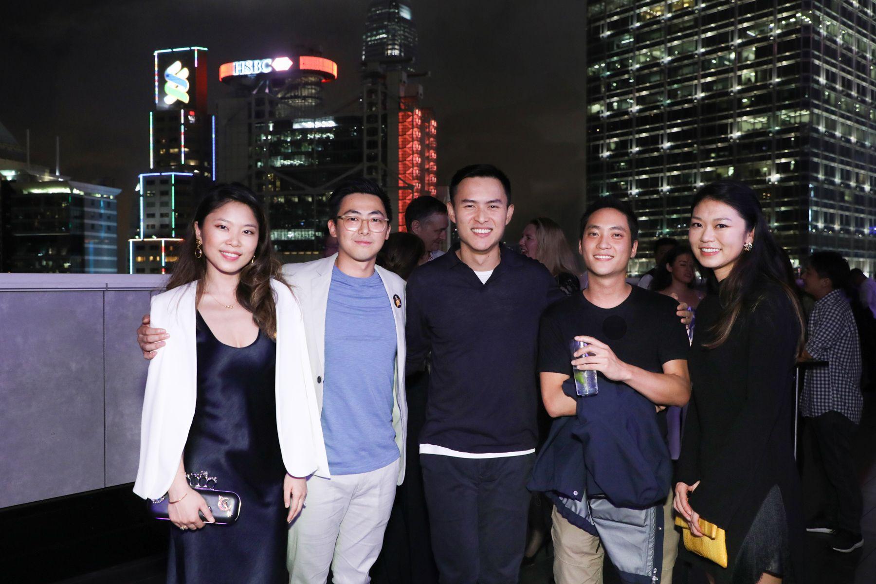 Elaine Lu, Vince Lim, Alexander Ng, Nelson Ng, Tania Tsang