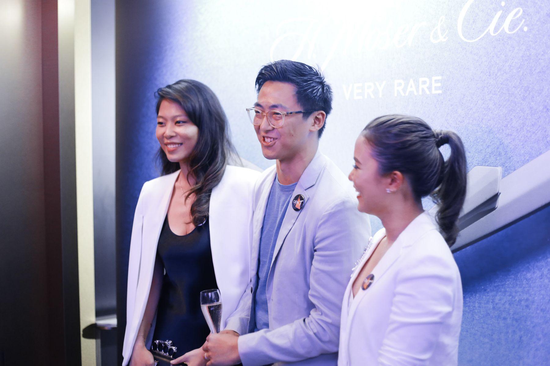 Elaine Yu, Vince Lim, Pearl Shek