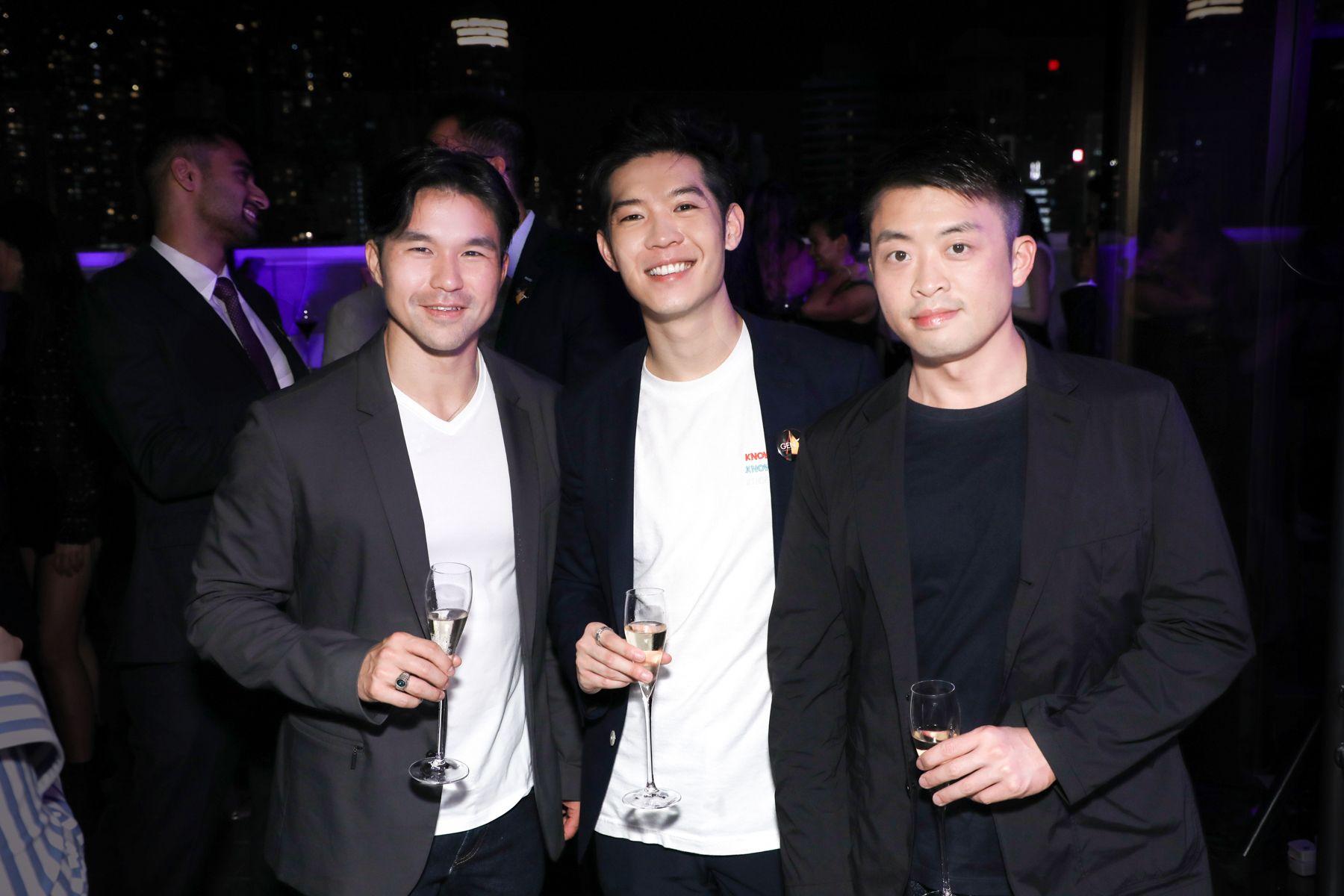 Jamie Lee, Ross Yip, Dominic Wang