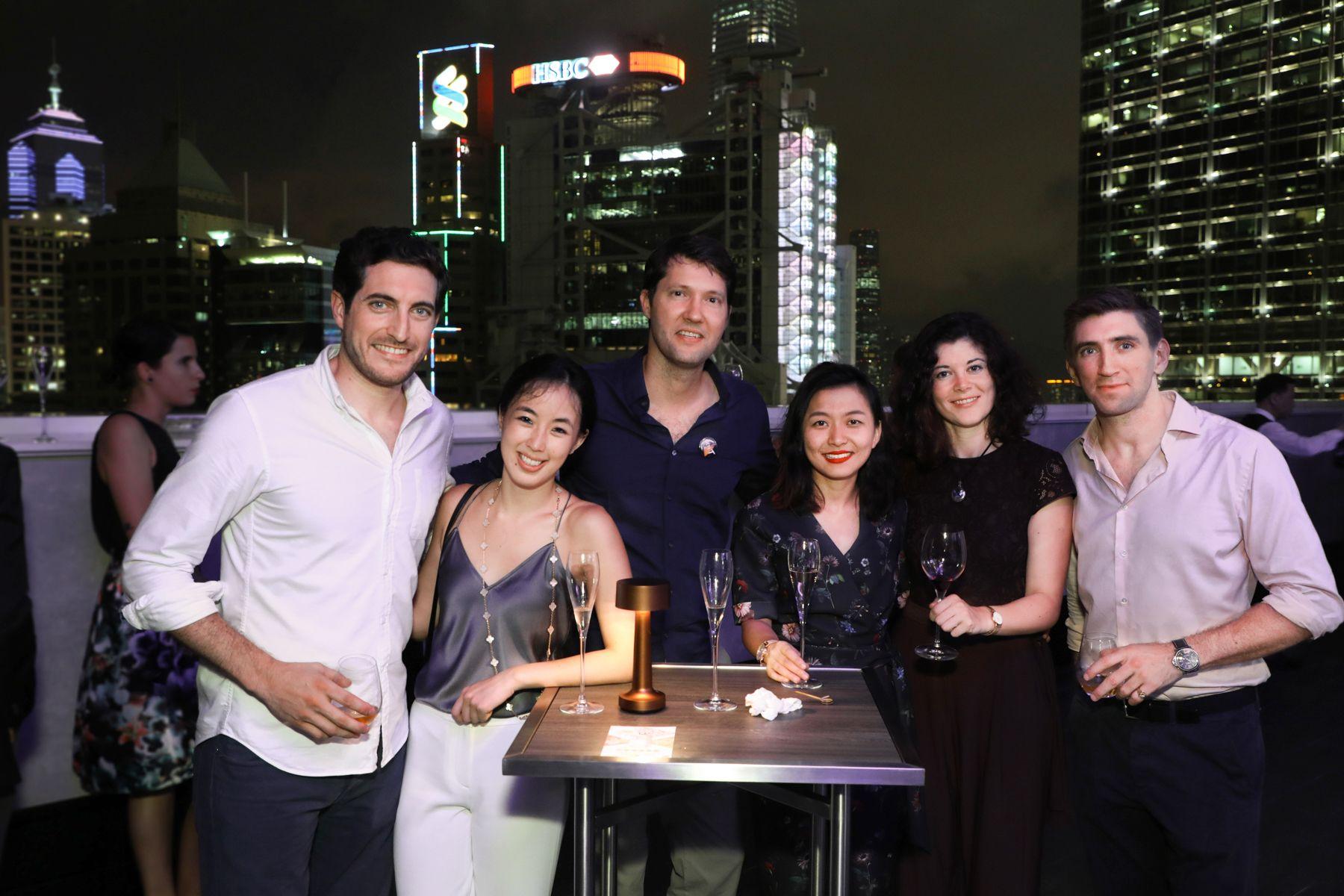 Joseph Louli, Victoria Chow, Max von Poelnitz, Sabrina Yang, Jacqueline Brownhill, Alister Musgrave