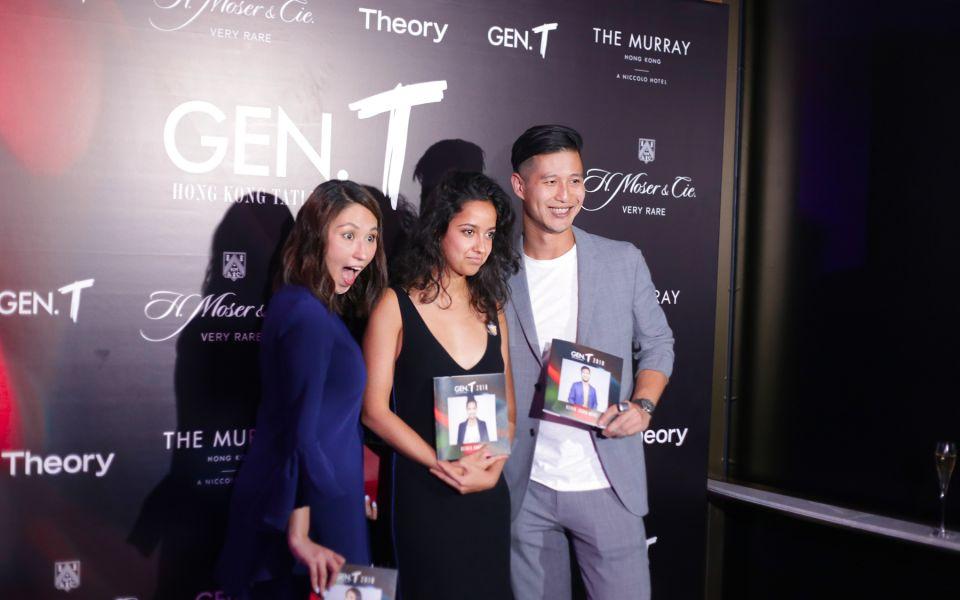 Juliette Gimenez, Kesha Hannam, Kevin Johan Wong