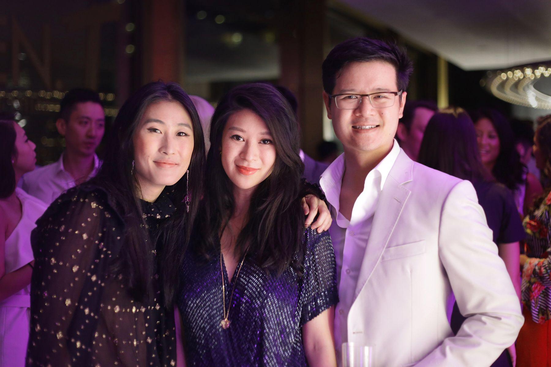 Justine Lee, Christy Liang, Benjamin Liang