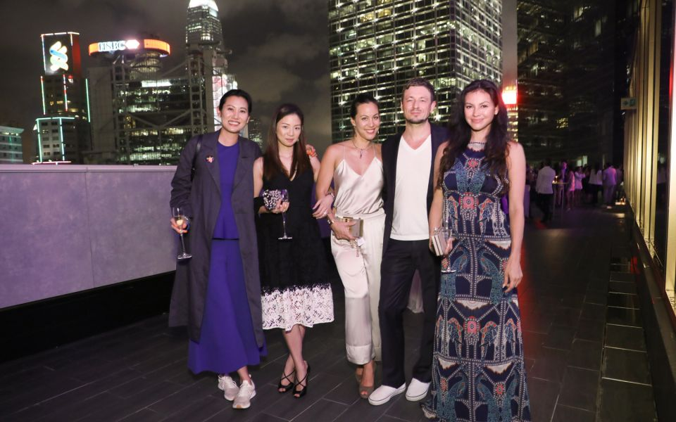 Marisa Yiu, Joanna Lui Hickox, Jeanine Hsu, Lars Rottmann, Rosemary Vandenbroucke